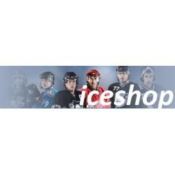 Ice Shop Düz Hokey Boyunluk (Junior/Senior 1 - 2, Siyah)