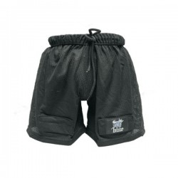 Blue Sports Men's Pro Short with Cup and Velcro